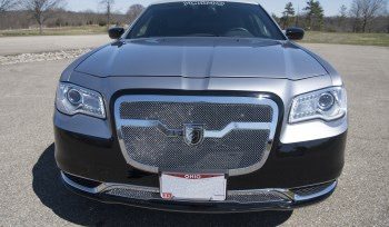 Black Charcoal Chrysler 300 With Seating Up to 14 Passengers
