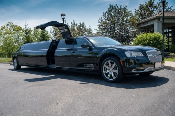 YC Limo - Black Chrysler 300 Seating Up To 14 Passengers